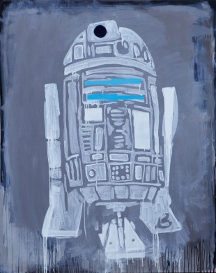 R2D2 by Barbara Smith