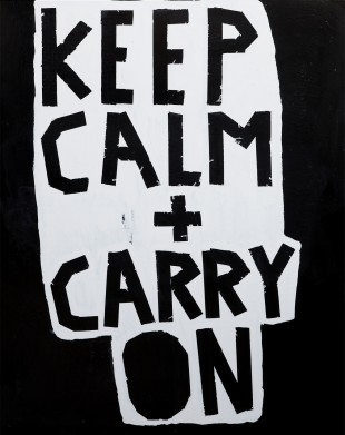 Keep Calm + Carry On by Barbara Smith