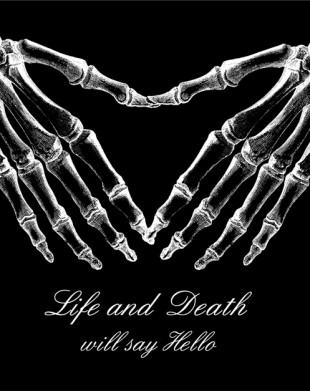 Life & Death Black T-Shirt
