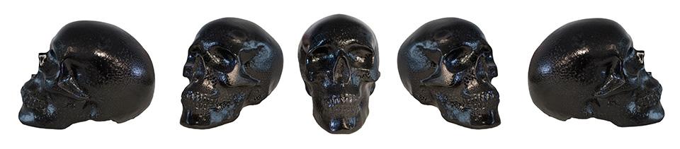 Black Gloss Skulls