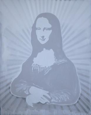 Mona Lisa - Painting by Barbara Smith