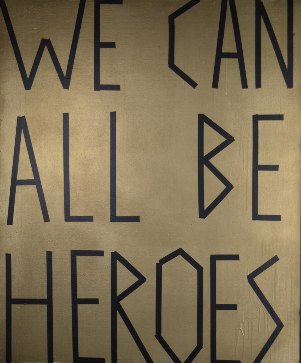 We Can All Be Heroes - Painting by Barbara Smith